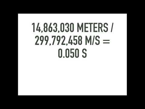 299,792,458 Meters per Second by Anthony Eden