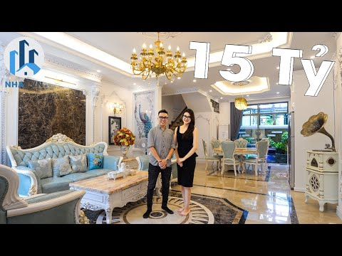 Biệt Thự Cổ Điển trị giá 15 Tỷ Đồng tại Vinhomes The Harmony có gì đặc biệt? – NhaF [4K]