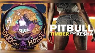 Timber Horse Pitbull Feat Kesha Katy Perry Feat Juicy J Mashup