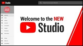 The new and improved YouTube Studio is here