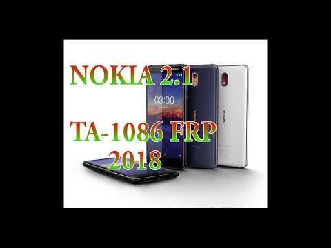 Nokia 2.1 Frp Google Account Bypass Ta-1086  2018
