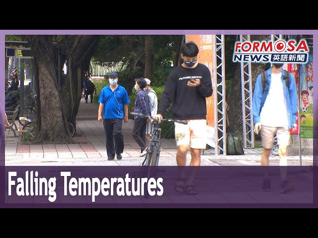Taoyuan records 18.7 degrees with arrival of strongest northeasterly winds of the season
