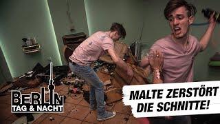Berlin - Tag & Nacht - Malte rastet völlig aus und zerstört die Schnitte! #1472 - RTL II