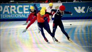 Sjinkie Knegt wereldkampioen; kwartje valt laat bij commentator