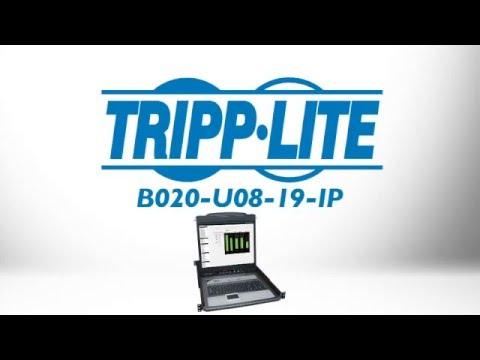 Tripp Lite B020-U08-19-IP Rackmount KVM Switch