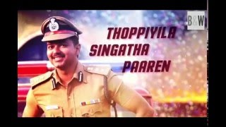 Jithu Jilladi || karaoke with Lyrics || Theri | Vijay | Atlee