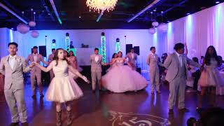 Silhouette Entrance & Beautiful Elegant Quince Waltz December 2018-Destiny's Waltz