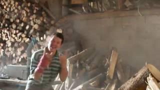 Прикол)))Заготовка дров в Германии|Уральский Фермер