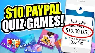 Earn $10 In Paypal From Playing Quiz Games! (quizdom)