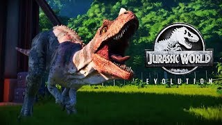 45 MINUTES OF GAMEPLAY! Dinosaurs, Breakouts & Much More | Jurassic World Evolution (Part 1)