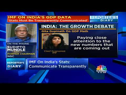 IMF's Message To India On GDP Data