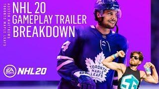 NHL 20 Game-play Trailer Breakdown