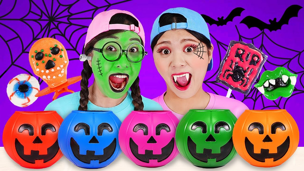 Halloween Party Mukbang Trick or Treat 할로윈 파티 DONA 도나