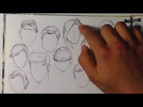 tips-on-how-to-draw-hair---easy-things-to-draw