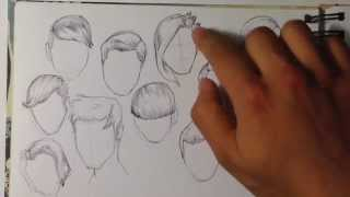 Tips on How to Draw Hair - Easy Things to Draw