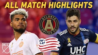 Atlanta United Have Never Lost to the New England Revolution | Watch Every Goal Video
