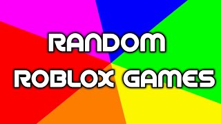 RANDOM ROBLOX SATURDAY