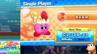 Kirby Triple Deluxe 100% in 9:40:00.40