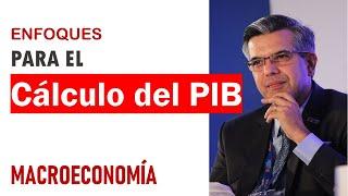 macroeconomía - enfoques del cálculo del PIB