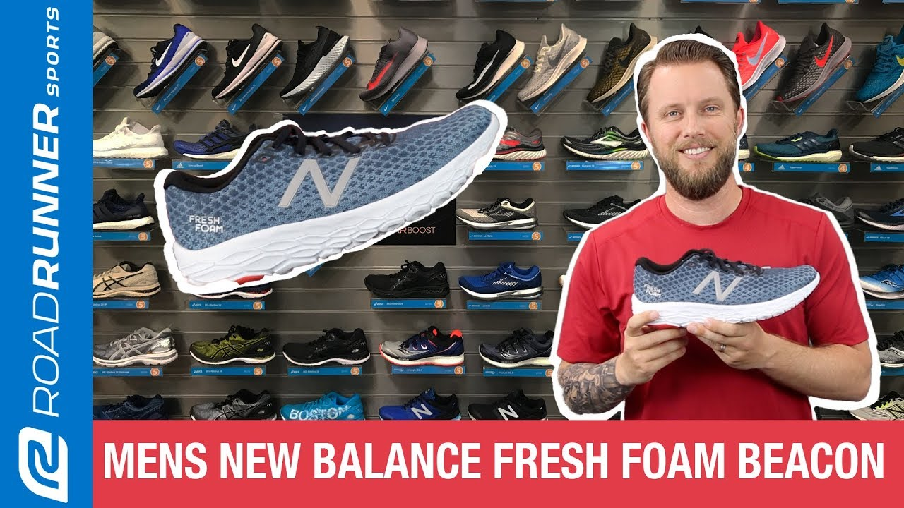 e3cb893d982e7 Men's New Balance Fresh Foam Beacon | Fit Expert Shoe Review - YouTube
