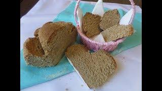 Вкусный и полезный хлеб без дрожжей и закваски на кефире.