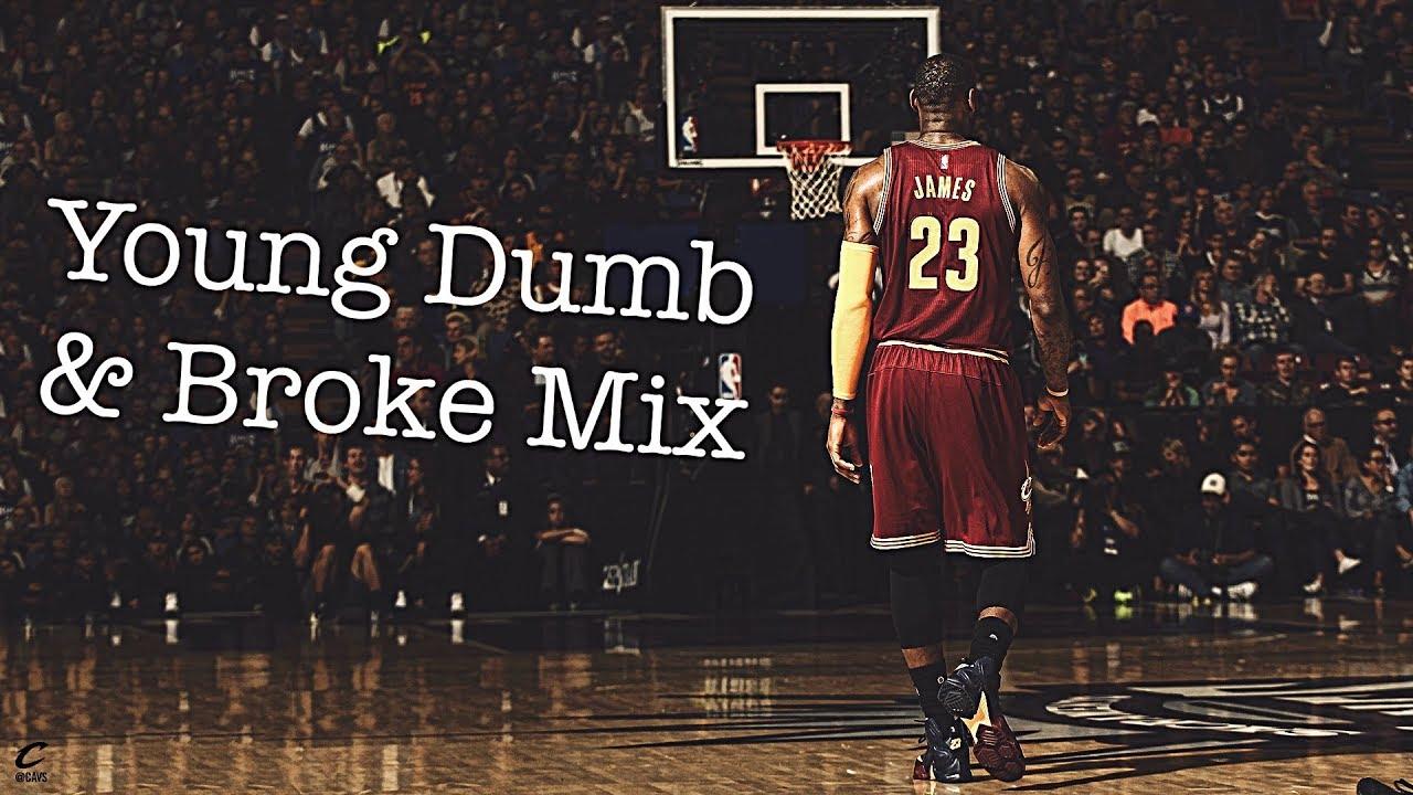 "Lebron James Career Mix "" Young Dumb & Broke """