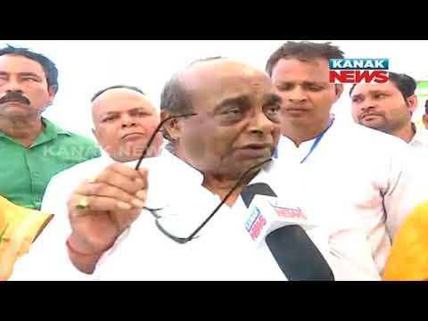 Damodar Rout Staement on NDA Govt in Mahanadi Mahasangram at Paradip