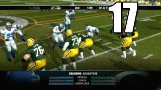 NFL Head Coach 09 - Part 17 Detroit Lions vs Green Bay Packers