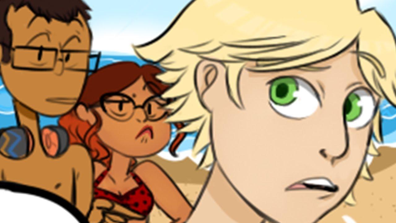Download Miraculous Ladybug [Comic Dub] - Beach Day | PHANTOMSAVAGE