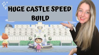 HOW TO BUILD A CASTLE ON ANIMAL CROSSING NEW HORIZONS  Animal Crossing New horizons