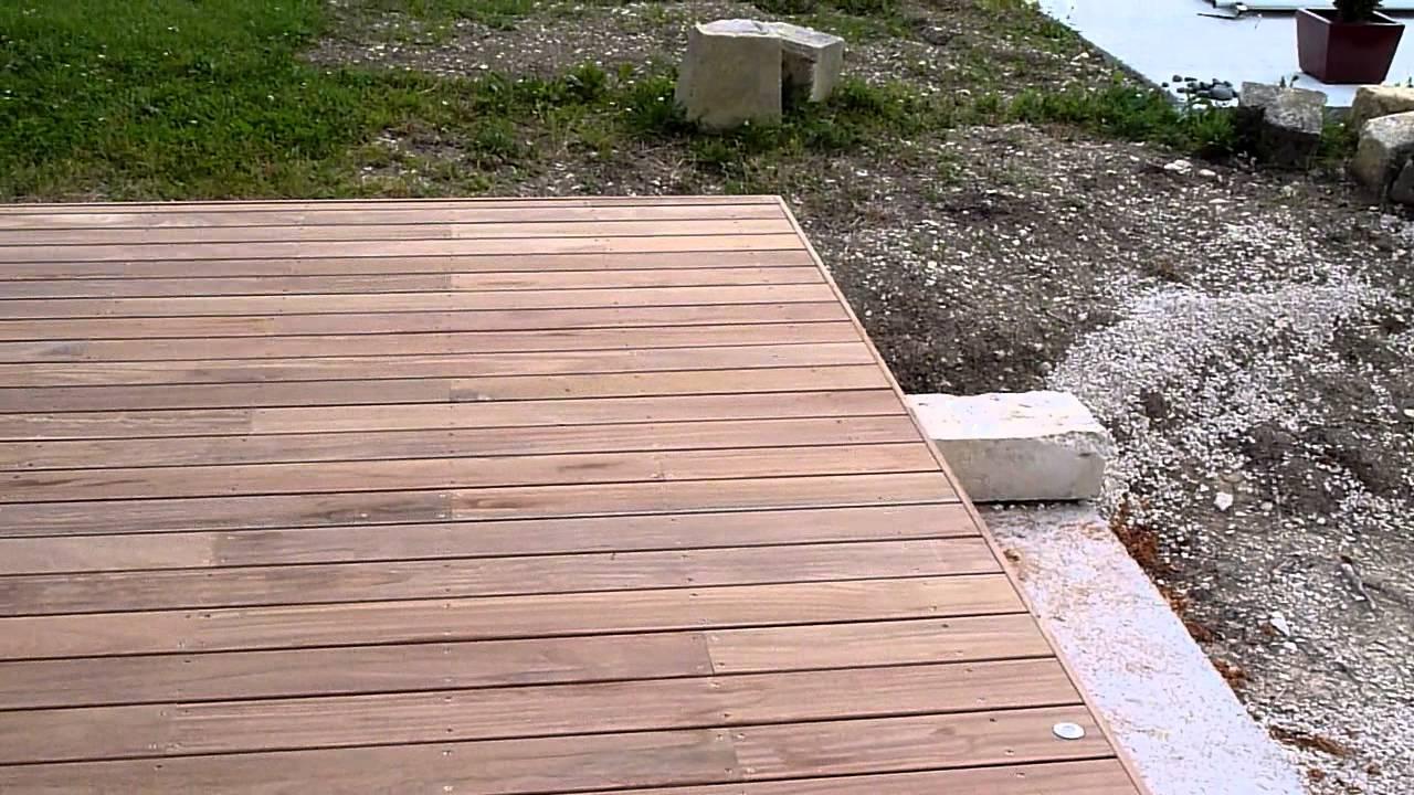 Terrasse En Bois Exotique terrasse bois exotique - youtube