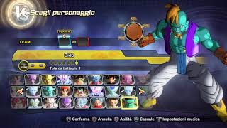 DRAGON BALL XENOVERSE 2 PC - MY PERSONAL MOD OF CHARACTERS UPLOAD 31/12/2017