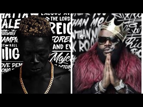 Shatta Wale Copies Rick Ross On Reign Album