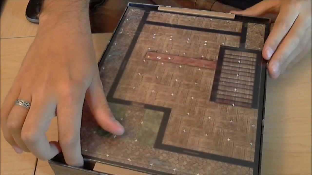 D&D The City Dungeon Tiles Unboxing & Review