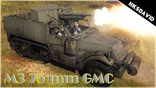 War Thunder M3 75 mm GMC féllánctalpas
