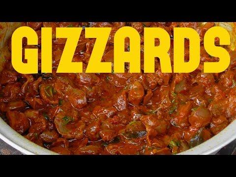 Chicken Gizzards Masala Gravy Recipe/ Tasty Chicken Gizzards Curry