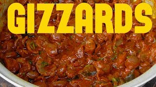 chicken gizzards masala gravy recipe/ tasty chicken gizzards curry