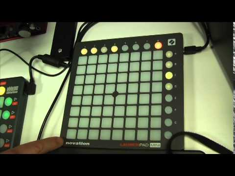 How to use the Novation Launchpad Mini