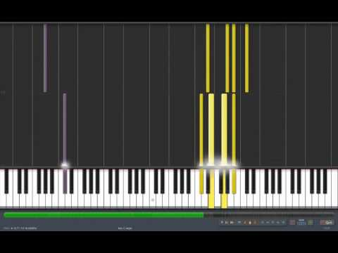FFVI Synthesia - Dancing mad