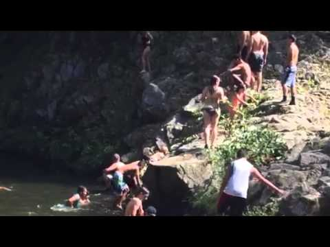 Garden of Eden Cliff jumping Santa Cruz