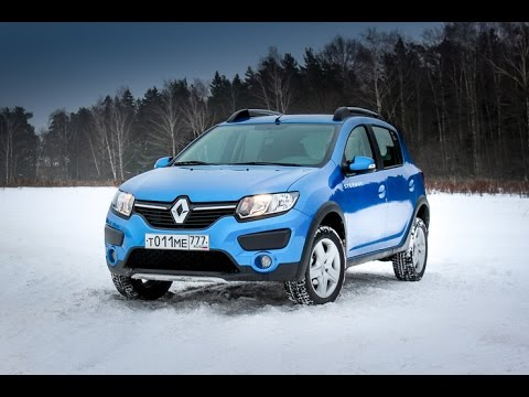 Renault Sandero Stepway. Тест-драйв Петра Баканова