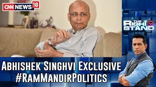 BJP Demanding Ram Temple & Following Nathuram Godse: Abhishek Manu Singhvi