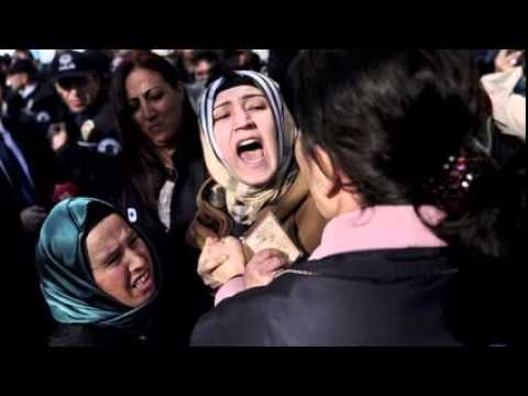 Turkey opens Soma mine disaster trial amid angry protest