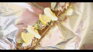 Подача (сервировка) бутербродов с килькой мастер-класс от шеф-повара / Илья Лазерсон