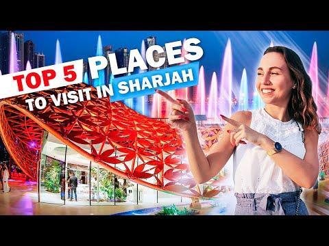 Top 5 Places To Visit In Sharjah. Al Noor Island.