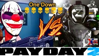 SERA QUE VAI?!?!? Bank Heist One Down Solo Sem BOT! (PAYDAY 2)