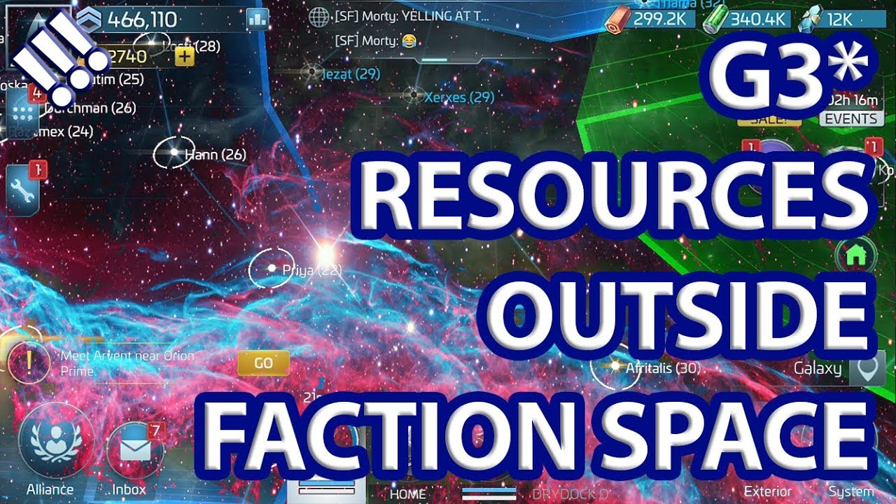 How to Mine G3 Resources Outside Faction Space // Star Trek Fleet