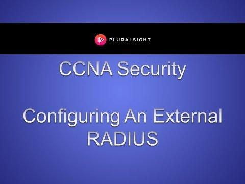 Cisco CCNA Security - Configuring An External RADIUS