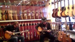 Rolf Jardemark & Max Schultz - No1 Guitarshop - Musik i butik II