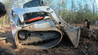 Fixing a skid steer track